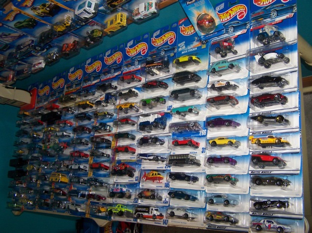 Hot Collections of Hot Wheels Diecast Cars