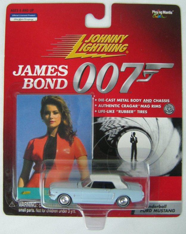 007 James Bond Thunderball Ford Mustang by Johnny Lightning
