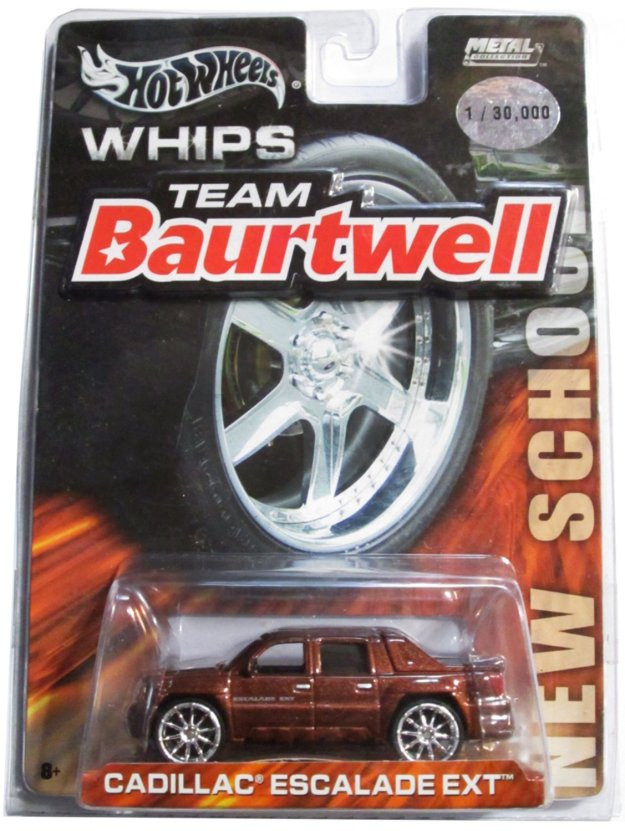 Hot Wheels Whips: Team Baurtwell Cadillac Escalade Ext Copper