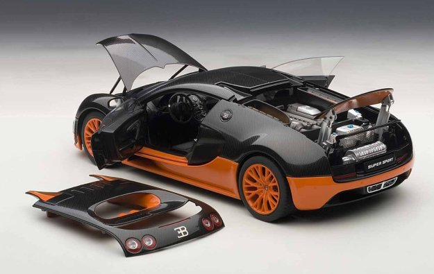 1/18 Bugatti Veyron Super Sport Diecast by AUTOart