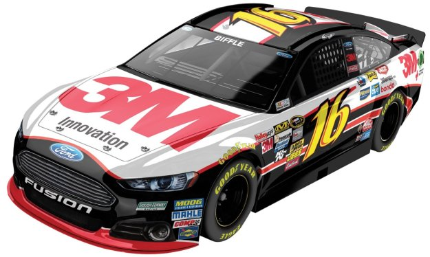 Greg Biffle #16 3M Ford Fusion 2014 NASCAR Diecast Car 1:24 Scale HOTO by Lionel Racing