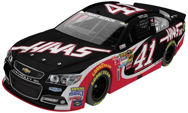 Kurt Busch #4 HAAS Automation 2014 Chevrolet SS NASCAR Diecast Car 1:24 Scale HOTO by Lionel Racing