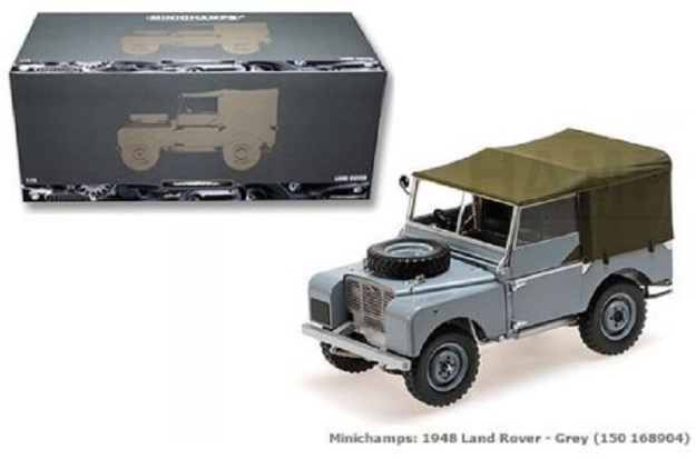 1948 Land Rover Diecast Car 1:18 Limited-edition 1 of 504 Pieces by Minichamps
