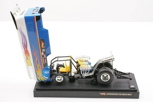 1999 Customized VW Drag Bus 1:18 Limited Edition by Hot Wheels