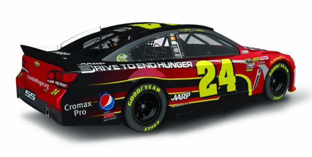 Jeff Gordon AARP/DTEH Chevy SS NASCAR Diecast Car by Lionel Racing