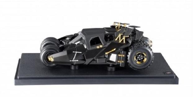 Batman Dark Knight Trilogy Hot Wheels Heritage Tumbler Batmobile 1:18 Scale Vehicle