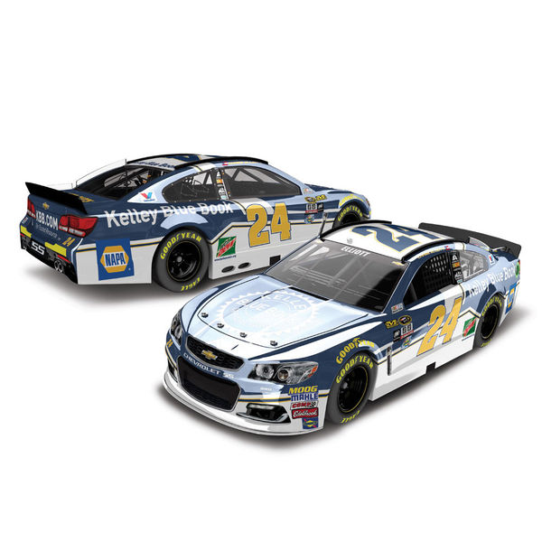 Chase Elliott Action Racing 2016 #24 Kelley Blue Book NASCAR Sprint Cup Series Diecast Chevrolet SS