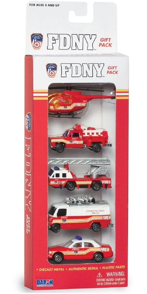 Daron FDNY Vehicle Gift Set 5-Piece Diecast Cars