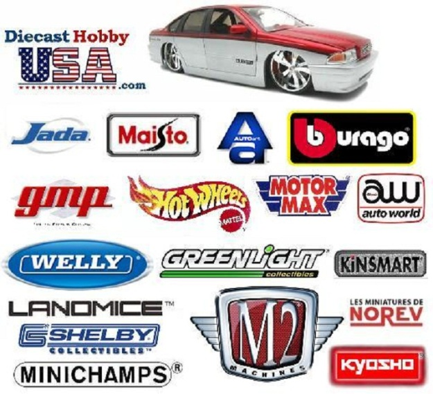 Comparison of Diecast Car Brands