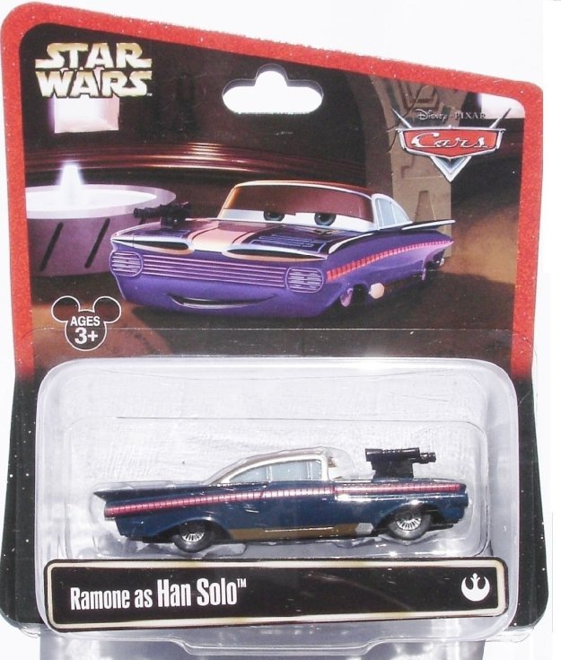 Disney Star Wars Pixar Cars Ramone as Han Solo 1/55 Die-Cast Series 2