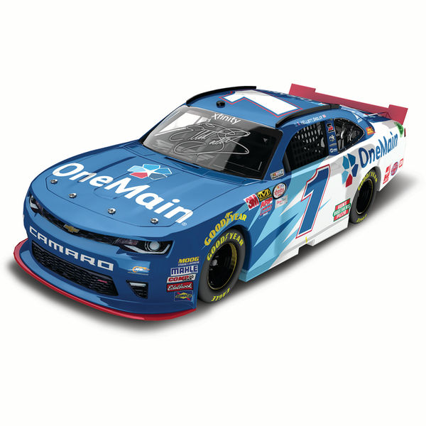 Elliott Sadler Action Racing 2016 #1 OneMain Financia Xfinity Series Gold Diecast Chevrolet Camaro