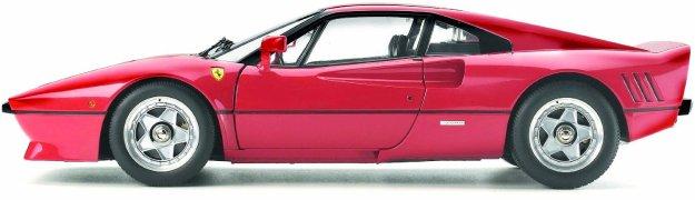 Ferrari 288 GTO Model Car 1/12 Red by Tamiya
