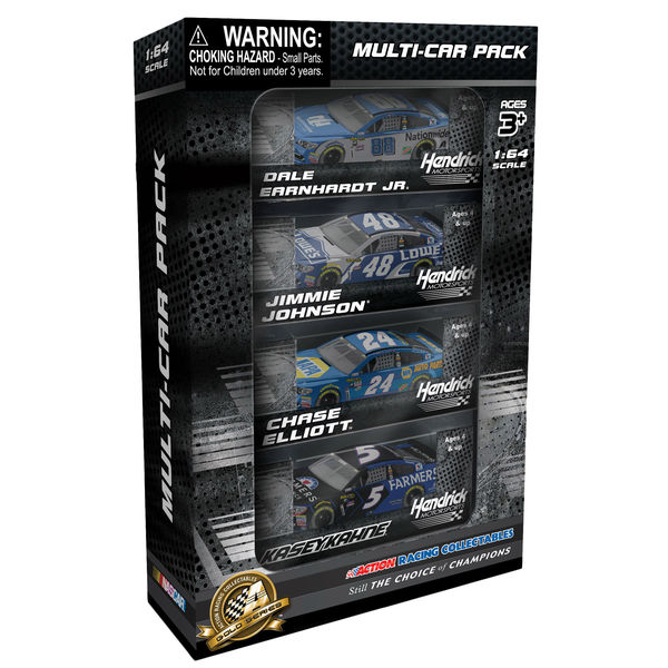 Hendrick Motorsports Action Racing 4-Pack 2016 1:64 Die-Cast Bundle