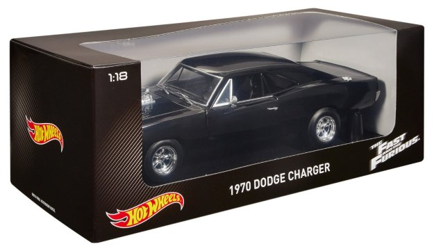 Hot Wheels Collector The Fast and the Furious 1970 Dodge Charger 1:18 Scale Diecast Cars