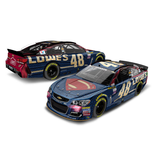 Jimmie Johnson Action Racing 2016 #48 Superman Die-Cast Chevrolet SS