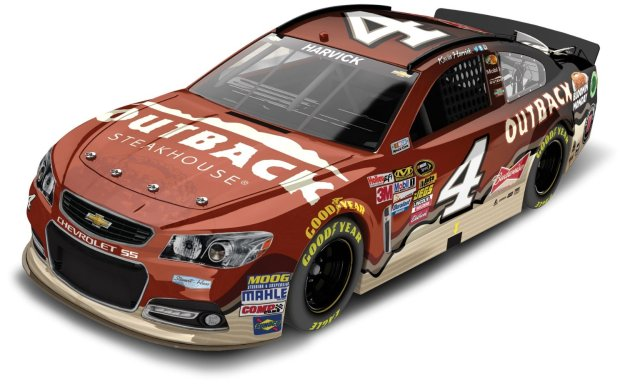 Kevin Harvick Outback Steakhouse Chevrolet SS NASCAR Diecast Car HOTO by Lionel Racing