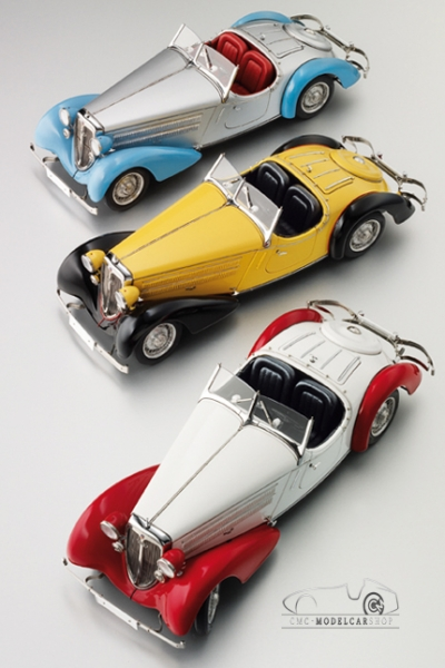 1935 Audi 225 Front Roadster Limited Edition 1:18 Scale by CMC-Classic Model Cars