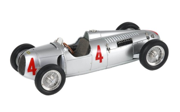 1936 Auto Union Type C #4 Limited Edition 1:18 Scale Diecast Car by CMC-Classic Model Cars