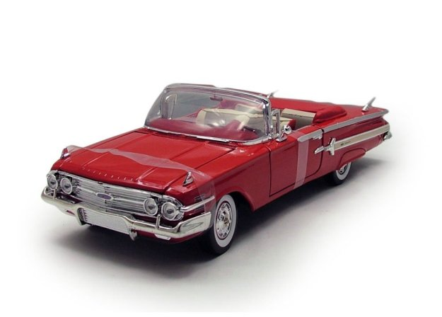 1960 Chevy Impala 1/18 scale Diecast Cars by Motor Max