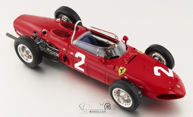 1961 Ferrari Dino 156 F1 Monza GP Italy #2 Limited Edition 1:18 Scale Diecast by CMC-Classic Model Cars