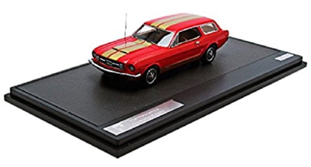 1965 Ford Mustang Intermeccanica Diecast Car by Matrix Scale Models