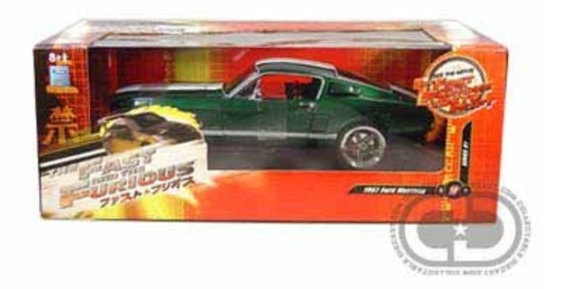 1967 Ford Mustang from The Fast and the Furious Tokyo Drift 1/18 Diecast by Collectable Diecast