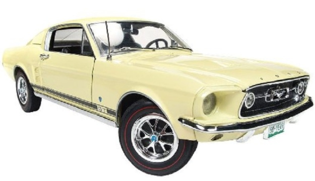 1967 Ford Mustang GT 2+2 50th Anniversary Series Diecast Car