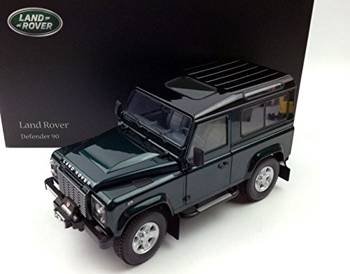 1984 LAND ROVER Defender 90 in Antree Green by Kyosho in 1:18 Scale