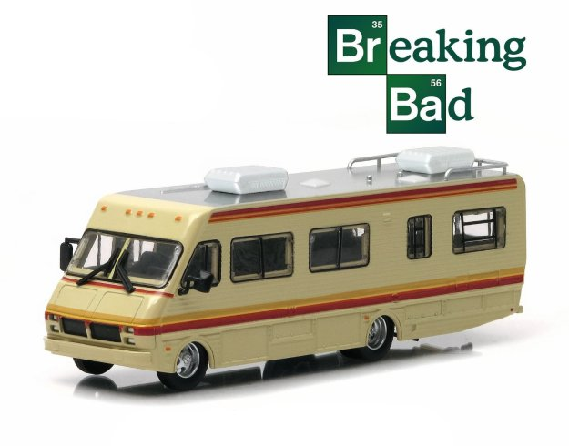 1986 Fleetwood Bounder RV Breaking Bad (2008-13 TV Series) 1/64 Scale Diecast by Greenlight
