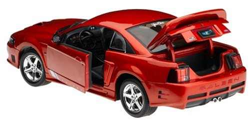 2003 Ford Mustang Saleen Diecast Model Red 1:18 the Fast and the Furious Die Cast Car by ERTL