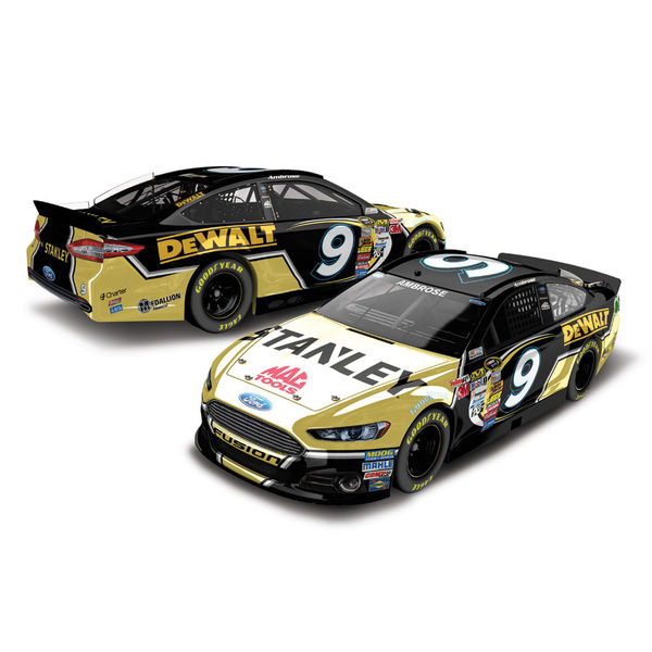Action Racing 2014 Marcos Ambrose #9 Stanley Ford Fusion 1:64 Scale Diecast Car