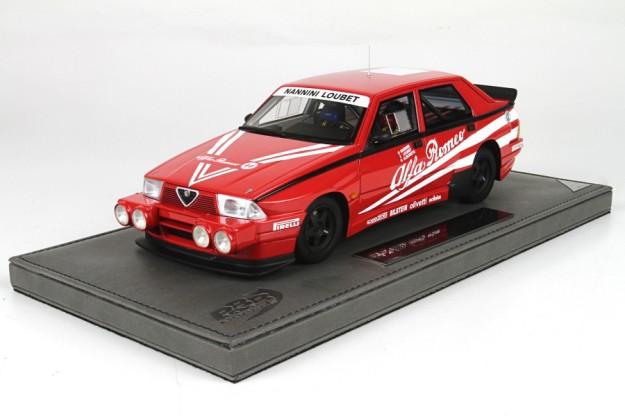 Alfa Romeo 75 Turbo GuppoA 1:18 Scale Model by BBR