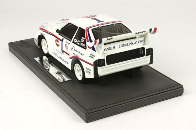 "Audi Quattro Porte ""Pikes Peak"" Bobby Unser 1:18 Scale Model by BRR"