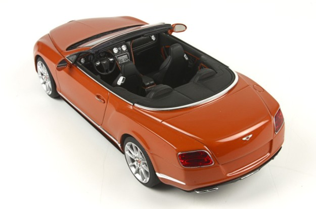 Bentley Continental GT V8 S Convertible 1:18 Scale Model by BRR