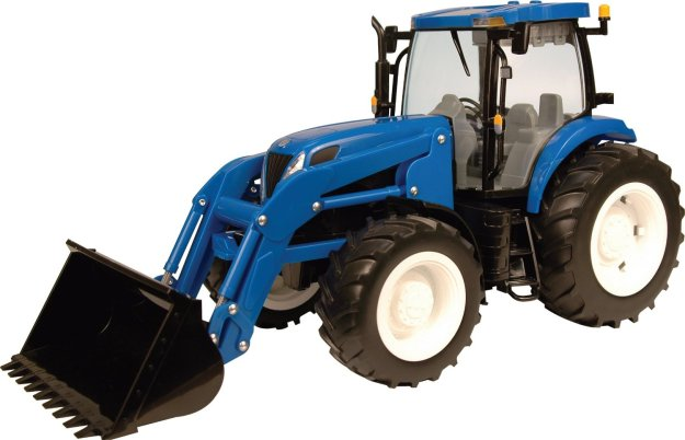 Ertl Big Farm 1:16 New Holland T7050 Tractor With Loader by TOMY