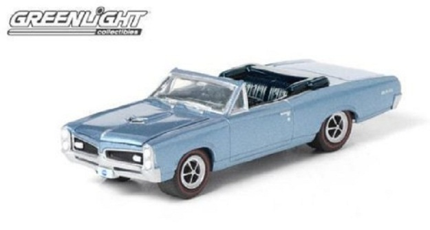 Greenlight Hollywood I Dream of Jeannie 1967 Pontiac GTO Convertible 1:64 Scale Diecast Car