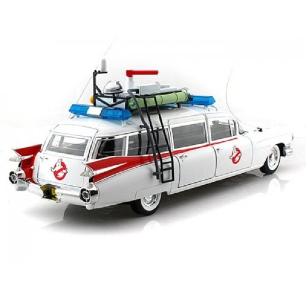 Hot Wheels Collector Ghostbusters Ecto-1 1:18 Scale Diecast Car