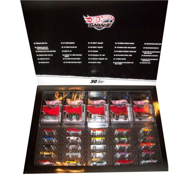 Hot Wheels Garage 1:64 Scale Diecast Model Cars Best of 30-Pack by Mattel