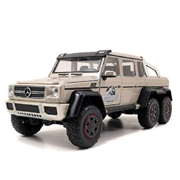 Jada Toys Jurassic World Mercedes G-Wagon 6 x 6 AMG 1:24 Scale Diecast Cars by Jada
