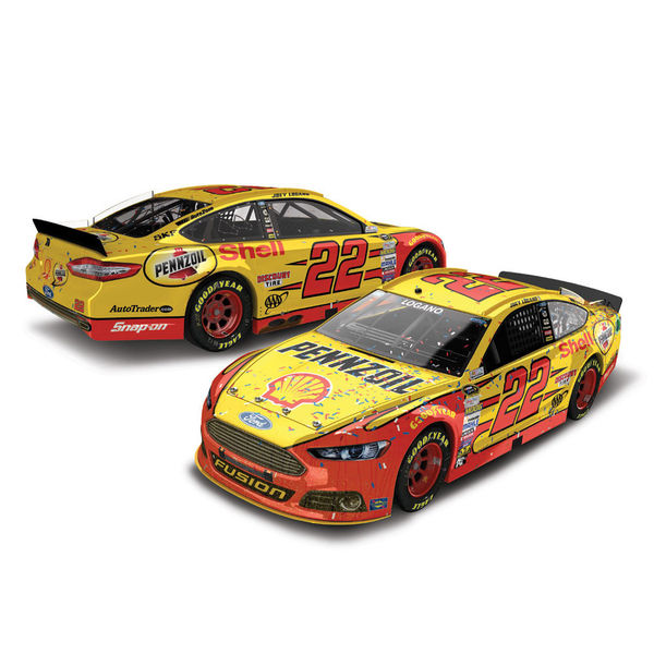 Joey Logano Action Racing 2015 Ford Fusion #22 Shell-Pennzoil 1:64 Scale Diecast Cars