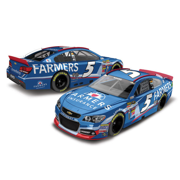 Action Racing 2014 Kasey Kahne #5 Farmers Insurance 1:64 Scale Gold Die-Cast Chevrolet SS