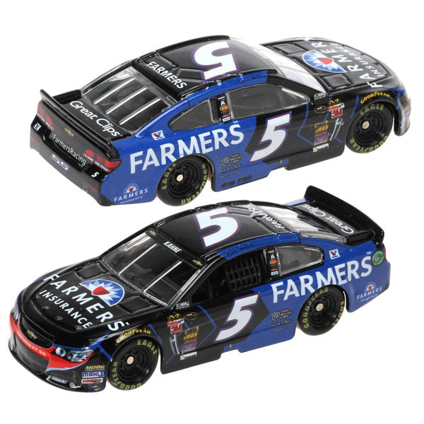 Kasey Kahne Action Racing 2015 #5 Farmers Insurance 1:64 Scale Die-Cast Chevrolet SS