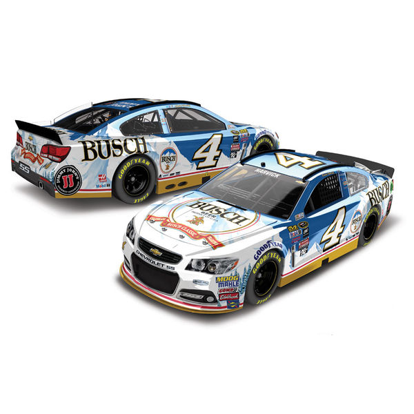 Kevin Harvick Action Racing 2016 #4 Busch 1:24 Color Chrome Die-Cast Chevrolet SS