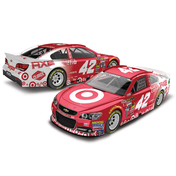 Kyle Larson Action Racing 2015 #42 Target 1:64 Scale Diecast Car