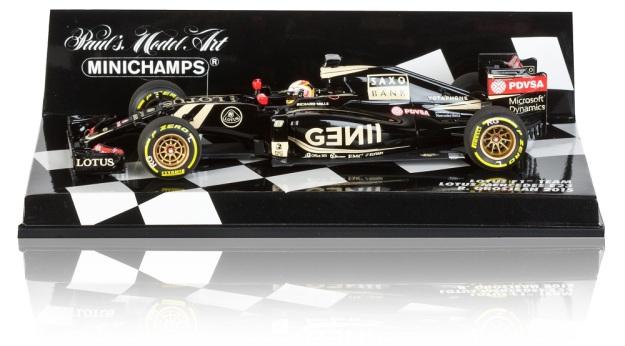 Lotus F1 E23 Hybrid Romain Grosjean 2015 Model 1:43 Scale Diecast Car by Minichamps