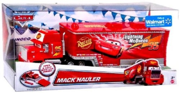 Mack Hauler 1:55 Scale Exclusive Disney/Pixar Diecast Cars by Mattel