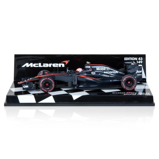 McLaren Honda MP4-30 Jenson Button Spanish F1 GP 2015 Model 1:43 Scale Diecast