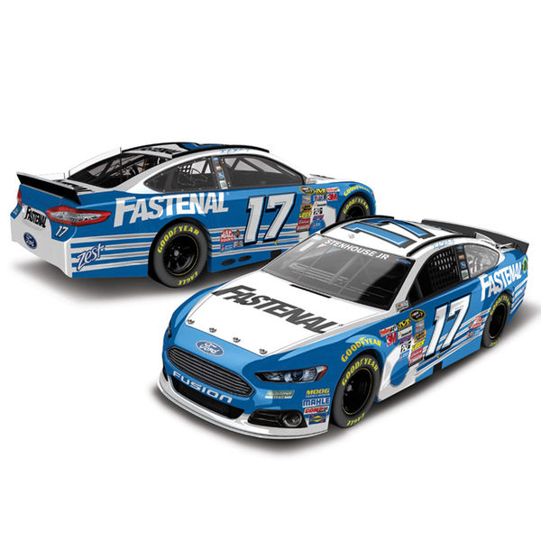 Ricky Stenhouse Jr. Action Racing 2015 #17 Fastenal 1:24 Scale Ford Fusion Diecast Car