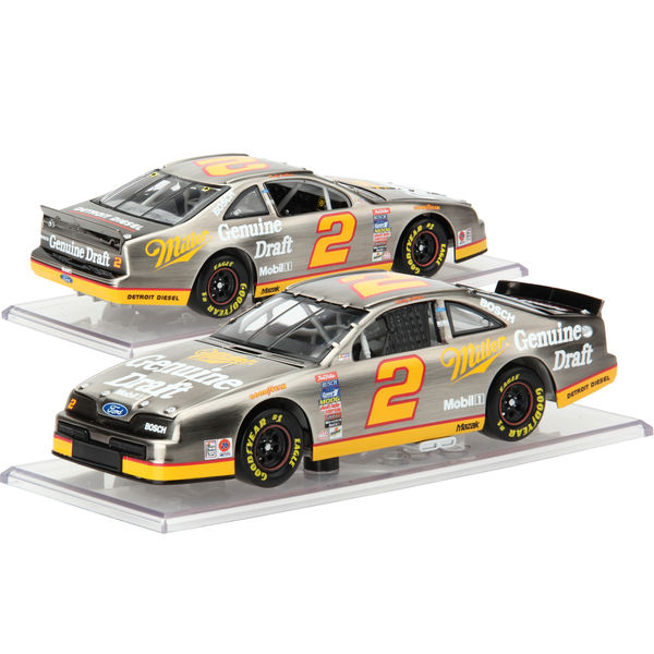 Rusty Wallace Miller Genuine Draft #2 1:24 Scale Color Chrome Die-Cast Car