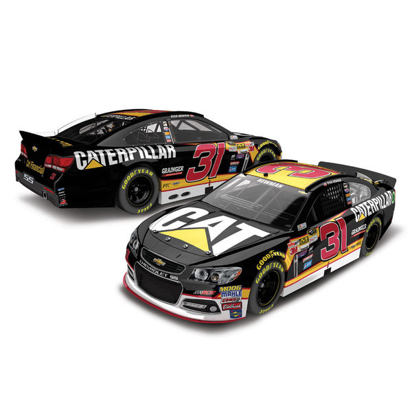 Ryan Newman Action Racing 2016 #31 CAT 1:24 Platinum Die-Cast Chevrolet SS